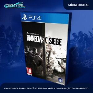 Tom Clancy's Rainbow Six Siege Ps4 - Digital