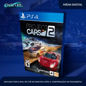 Project CARS 2 Ps4 Mídia Digital
