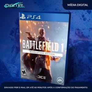Battlefield 1 Revolution PS4 - Game Digital