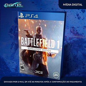 Battlefield 1 Revolution PS4 Mídia Digital