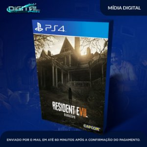 Resident Evil 7 Biohazard Ps4 Mídia digital