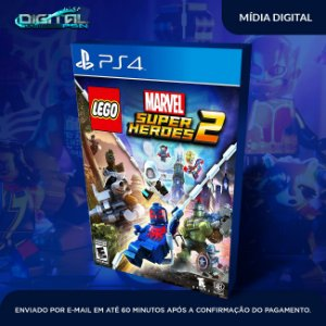 Lego Marvel Super Heroes 2 ps4 midia digital
