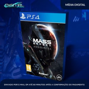 Mass Effect: Andromeda PS4 Mídia Digital
