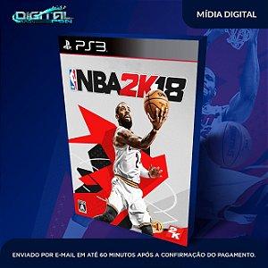 NBA 2K18 PS3 Mídia Digital