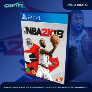 Nba 2K18 ps4 midia digital - Sistema Original 1 - Primária  -