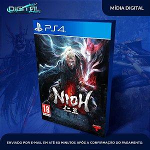 Nioh Ps4 - midia digital