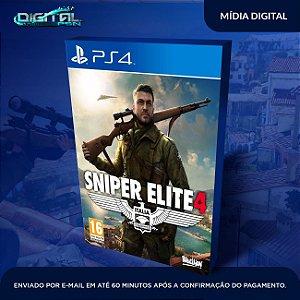 Sniper Elite 4 PS4 Mídia Digital