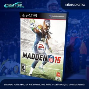 Madden NFL 15 Ps3 Mídia Digital