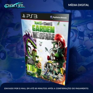 Plants vs. Zombies Garden Warfare Ps3 Mídia Digital