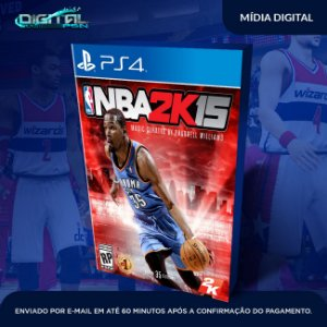 NBA 2K15 Ps4 Mídia Digital