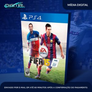 Fifa 15 Pt Br Ps4 Game Digital