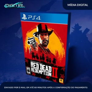 Red Dead Redemption 2 Edição Definitiva Ps4 Psn Mídia Digital