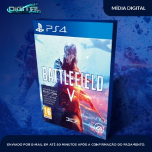 Battlefield 5 V Bf5 Mídia Digital Ps4