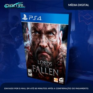 Lords of the Fallen Ps4 Mídia Digital