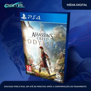 Assassins Creed Odyssey PS4 Game Digital