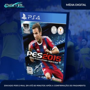Pro Evolution Soccer 2015  Ps4 Mídia Digital