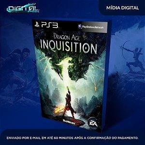 Dragon Age: Inquisition Ps3 Mídia Digital