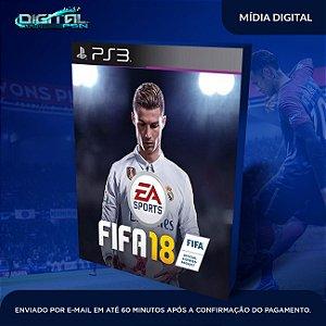 FIFA 2018 | Fifa 18 Ps3 psn digital | dublado em pt br | envio imediato