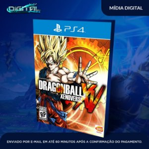 Dragon Ball Xenoverse Ps4 Mídia Digital