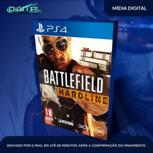 Battlefield Hardline Ps4 Mídia Digital