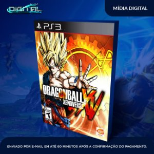 Dragon Ball Xenoverse PS3 Mídia Digital