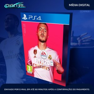 Ea Sport Fifa 2020 20 Ps4 Psn Mídia Digital