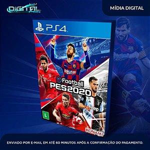 eFootball PES 2020 Standard Edition PS4 Mídia Digital