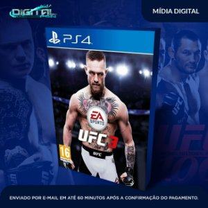 Ufc 3 Ps4 Mídia Digital