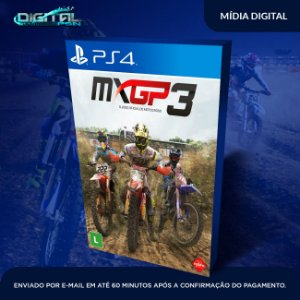 MXGP3 - The Official Motocross Videogame PS4 Mídia Digital