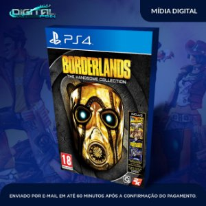 Borderlands: The Handsome Collection Ps4 Mídia Digital