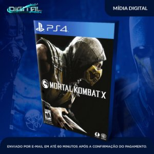 Mortal Kombat X Ps4 Mídia Digital