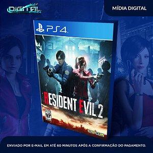 Resident Evil 2 PS4 Mídia Digital