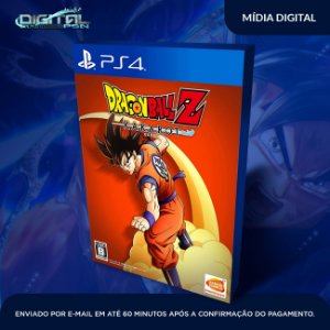 Dragon Ball Kakarot Ps4 Mídia Digital