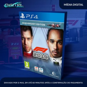 F1 2019 Formula 1 2019  PS4  Pt br Game Digital
