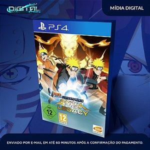 Naruto Shippuden Ultimate Ninja Storm Legacy PS4 Mídia Digital