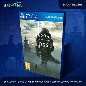 Shadow Of The Colossus PS4 Mídia Digital