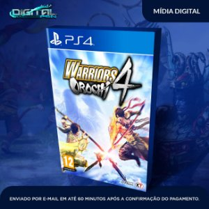 WARRIORS OROCHI 4 PS4 Game Digital