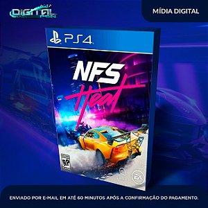 Need for Speed Heat Ps4 Mídia Digital
