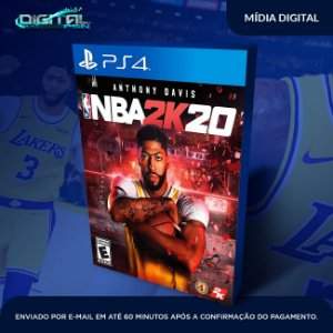NBA 2k20 PS4 Game Digital
