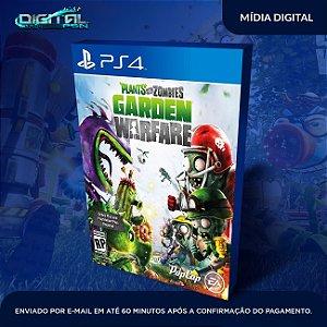 Plants vs Zombies Garden Warfare PS4 Mídia Digital