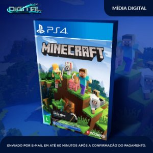 Minecraft PS4 Game Digital