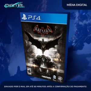 Batman Arkham Knight PS4 Game Digital