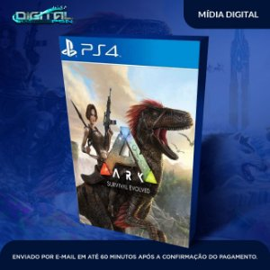 ARK Survival Evolved PS4 Game Digital