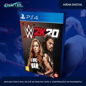 WWE 2K20 PS4 Game Digital