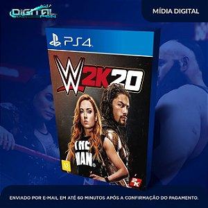 WWE 2K20 PS4 Mídia Digital