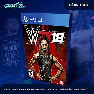 WWE 2K18 PS4 Mídia Digital