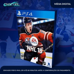 EA SPORTS NHL 18 PS4 Game Digital