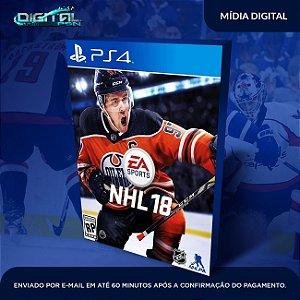 EA Sports NHL 18 PS4 Mídia Digital