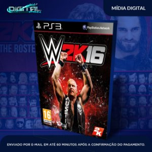 WWE 2K16 Ps3 Game Digital