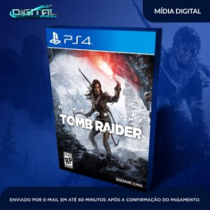 Rise of the Tomb Raider PS4 Game Digital
